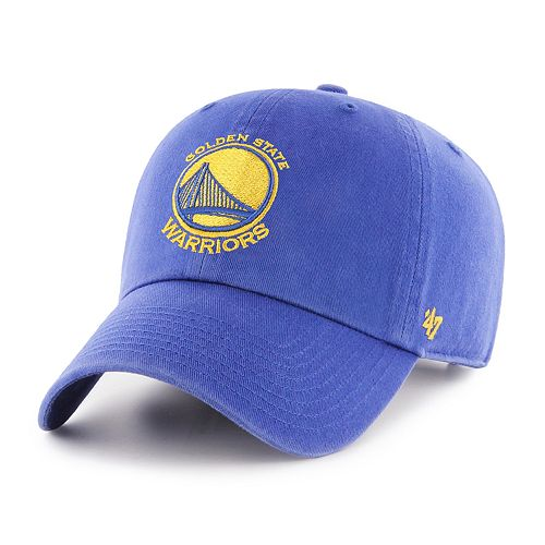 Adult '47 Brand Goldem State Warriors Clean Up Adjustable Cap