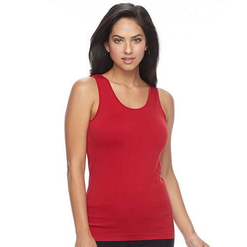 Women's Apt. 9® Essential Reversible Seamless Tank