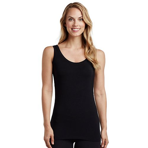 Women's Cuddl Duds Reversible Softwear with Stretch Tank