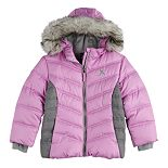 Girls 4-16 Zero Xposur Puffer Jacket