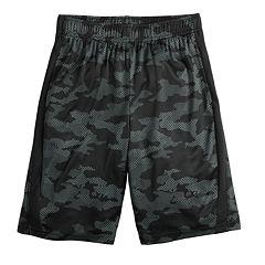 new styles 2ff0f 6f93c Boys 8-20 Tek Gear® DryTek Printed Shorts in Regular   Husky