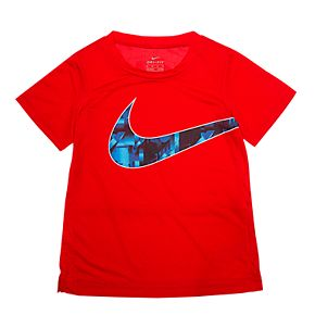 Boys 4-7 Nike Abstract Logo Dri-FIT Graphic Tee