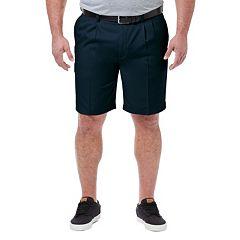 Big & Tall Haggar® Cool 18® PRO Classic-Fit Pleated Shorts