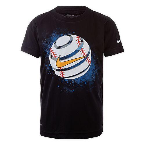 Boys 4-7 Nike Baseball Dri-FIT Graphic Tee