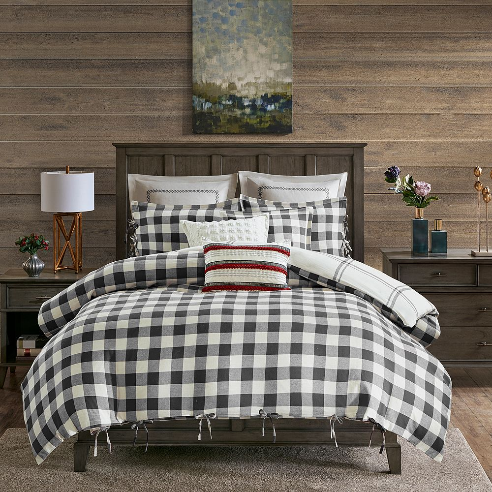 Madison Park Signature Willow Oak Reversible Cotton Comforter Set