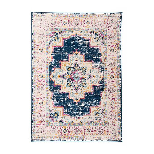 World Rug Gallery Monaco Bohemian Medallion Rug