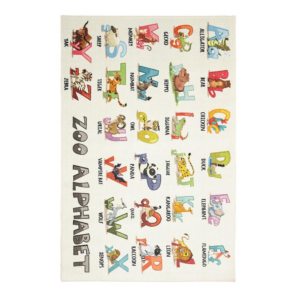 Mohawk® Home Prismatic Alphabet Zoo EverStrand Rug