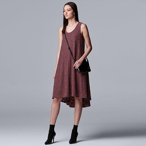 Women's Simply Vera Vera Wang Hi-low Tank Dress