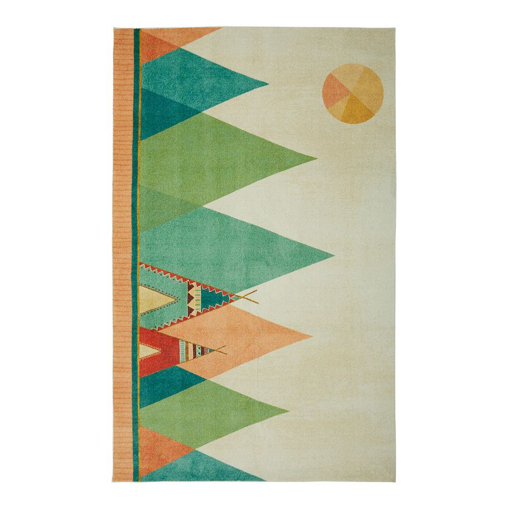 Mohawk® Home Prismatic Southwest Teepee EverStrand Rug