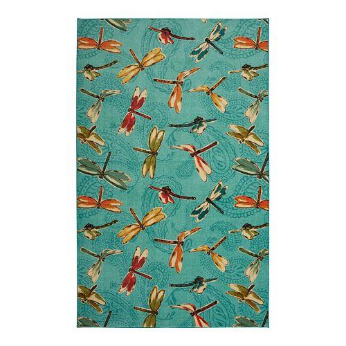 Mohawk® Home Prismatic Summer Dragonflies EverStrand Rug