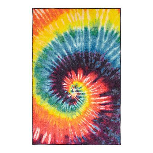 Mohawk 174 Home Prismatic Tie Dye Swirl Everstrand Rug