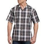 Men's Dickies Icon Plaid Yarn-Dyed Camp Shirt