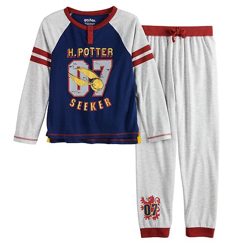 Boys 4-12 Harry Potter 2-Piece Jogger Pajama Set