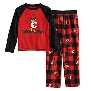 Boys 4-12 Angry Birds Fleece 2-Piece Pajama Set