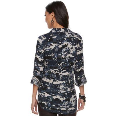 Women's Rock & Republic® Twill Shirt