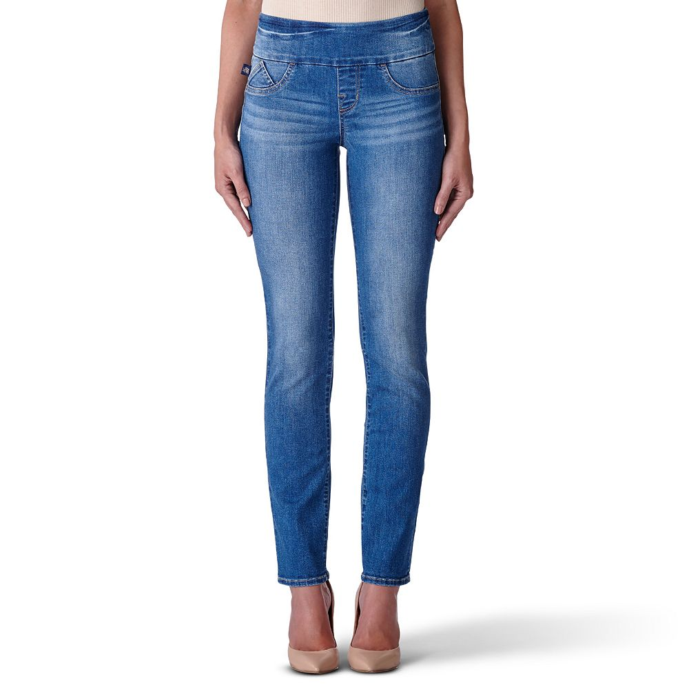 Women's Rock & Republic™ Fever Midrise Pull-On Straight Leg Jeans