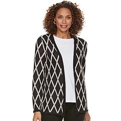Women's Croft & Barrow® Classic Open-Front Cardigan