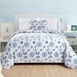 Great Bay Home Azure Quilt Set