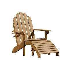Highwood Westport Adirondack Chair & Folding Ottoman