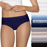 Women's Hanes Cotton Comfort Ultra Soft 12-Pack Hipster Panties  41KP12