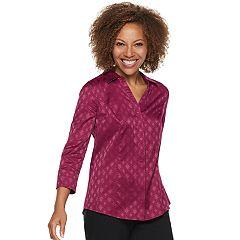 Women's Dana Buchman Jacquard Shirt
