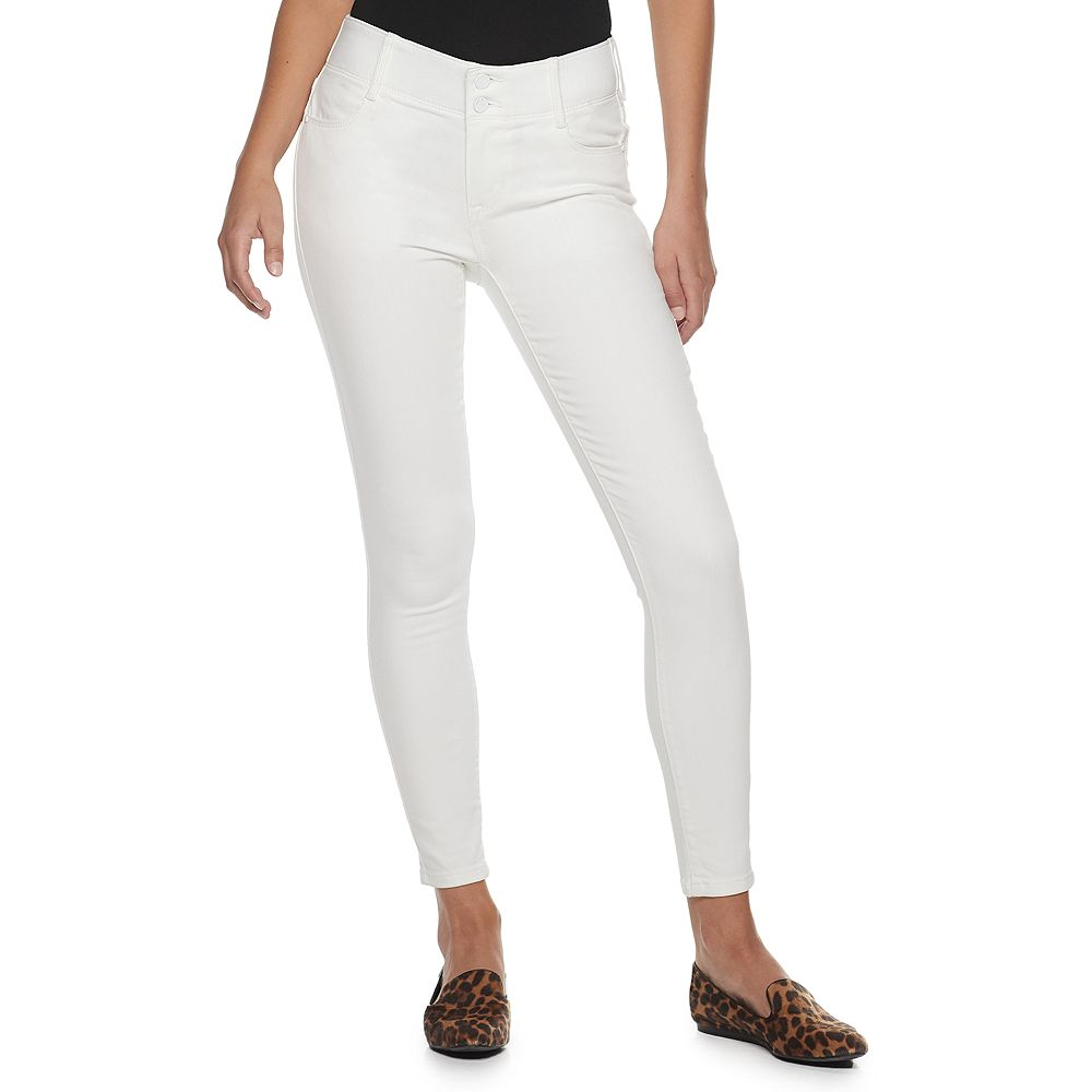 Women's Apt. 9® Mid-Rise Tummy Control Skinny Jeans