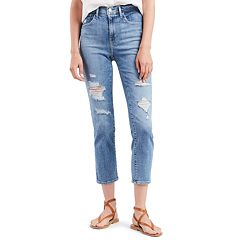Women's Levi's® 724 High Rise Straight-Leg Crop Jeans