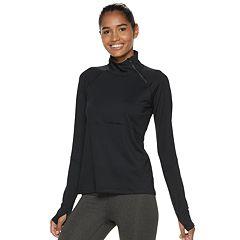 Women's FILA SPORT® Asymmetrical Half Zip Top