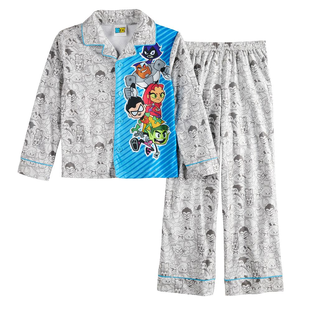 Boys 4-16 Teen Titans Go Pajama Set