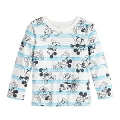 81ee1f495 Boys Graphic T-Shirts Kids Long Sleeve Mickey Mouse & Friends Tops ...