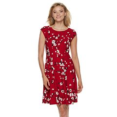 Women's ELLE™ Fit & Flare Dress