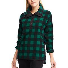 Women's Chaps 1/2-Snap Fleece Jacket