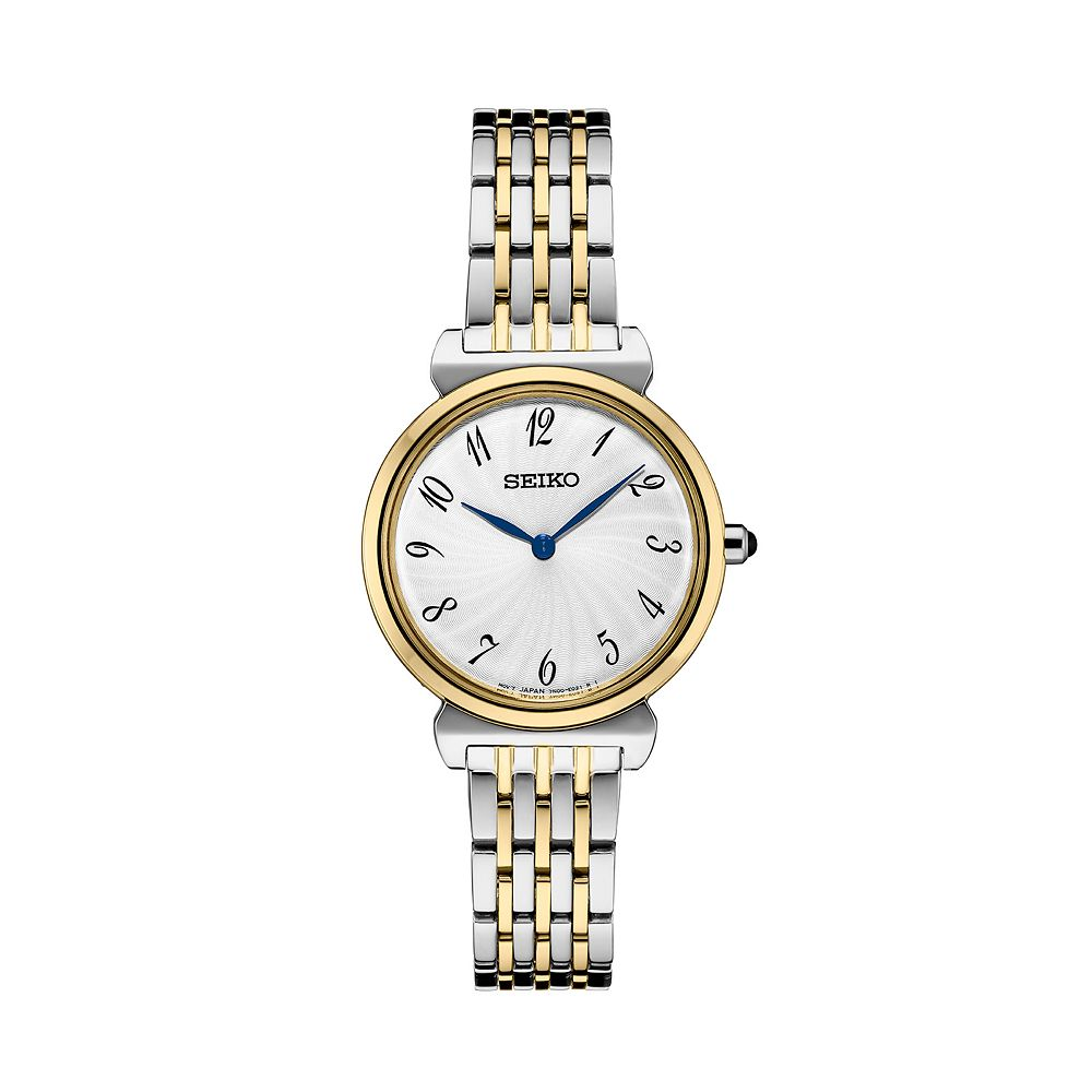 Seiko Women's Essential Two Tone Stainless Steel Watch - SFQ800