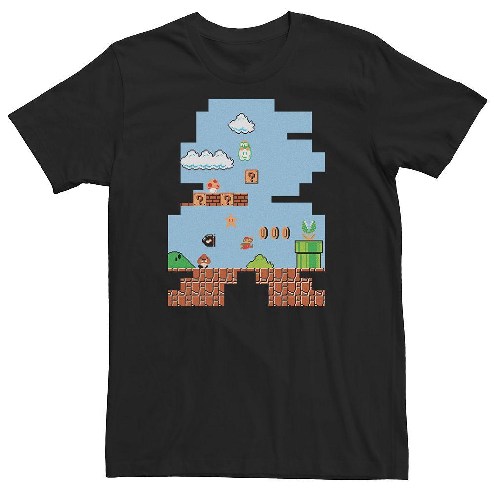 Men's Super Mario Bros Graphic Tee