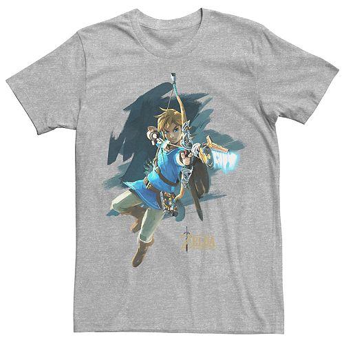 Men's Legend of Zelda Jump Shot Tee