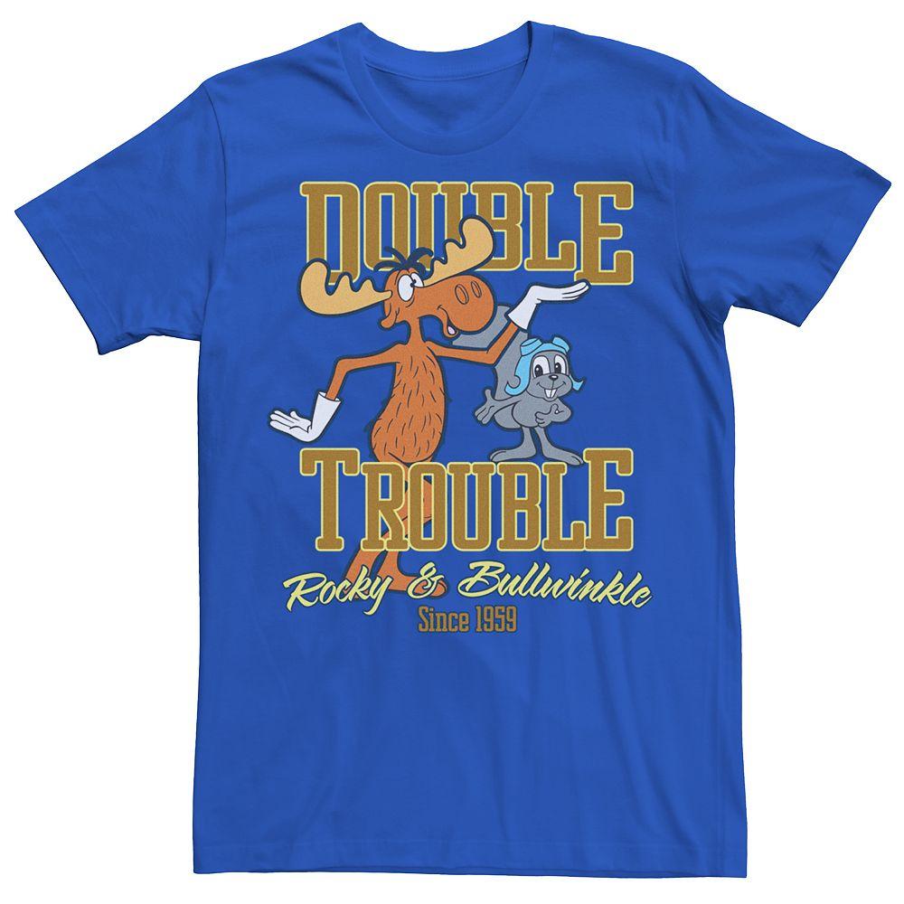 Men's Rocky & Bullwinkle Double Trouble Tee