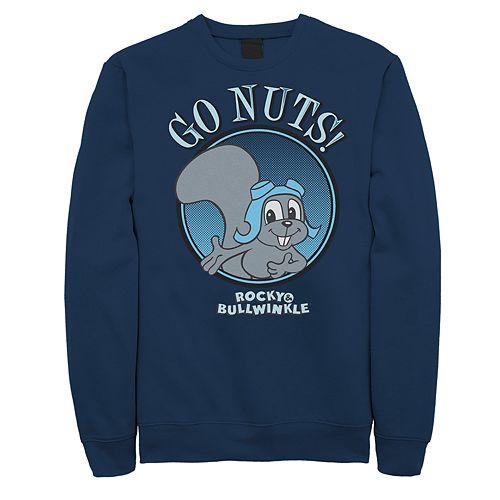 Men's Rocky & Bullwinkle Go Nuts Sweatshirt