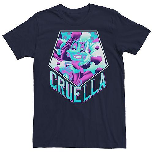 Men's Disney Villains Cruella Tee