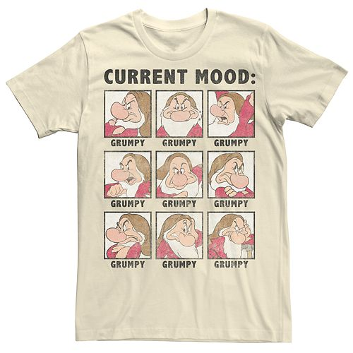 Men's Seven Dwarfs Mood Tee