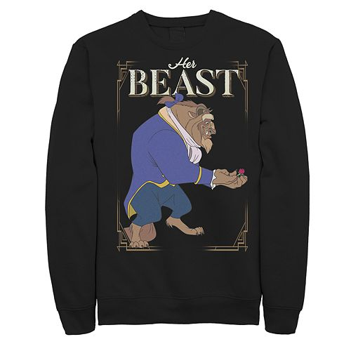 Men's Beauty and the Beast Graphic Pullover