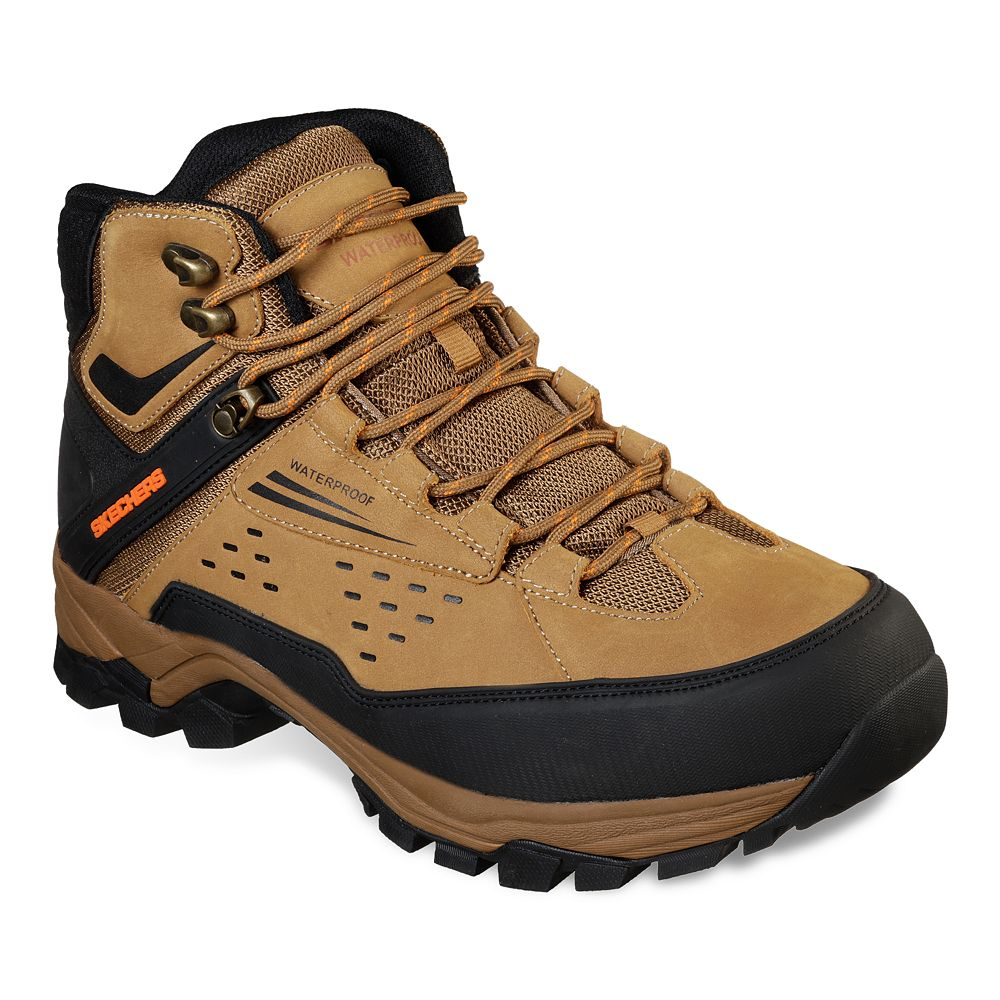 Skechers® Relaxed Fit Polano Norwood Men's Waterproof Hiking Boots