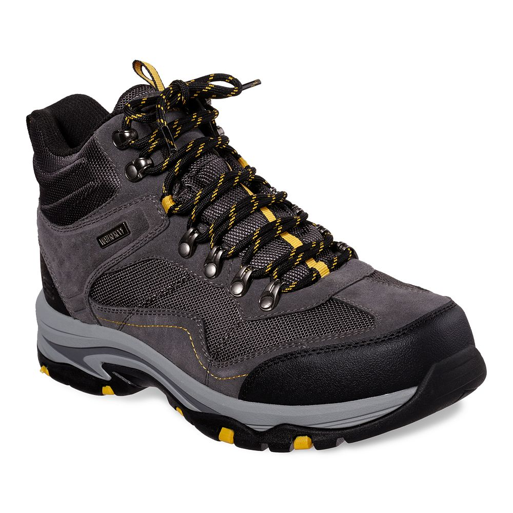 Skechers® Relaxed Fit Trego Pacifico Men's Waterproof Hiking Boots