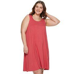 Juniors' Plus SO® Simple Tank Dress