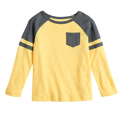 Toddler Boy Jumping Beans® Long-sleeve Pocket Tee