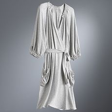 Simply Vera Vera Wang Shirred Wrap Robe :  wang fall fashions evening vera