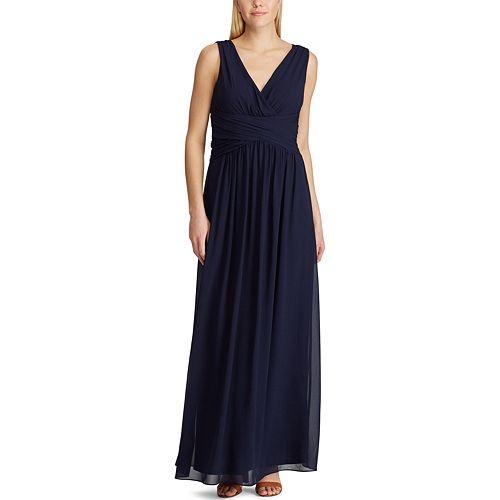 Women's Chaps Sleeveless Maxi Gown