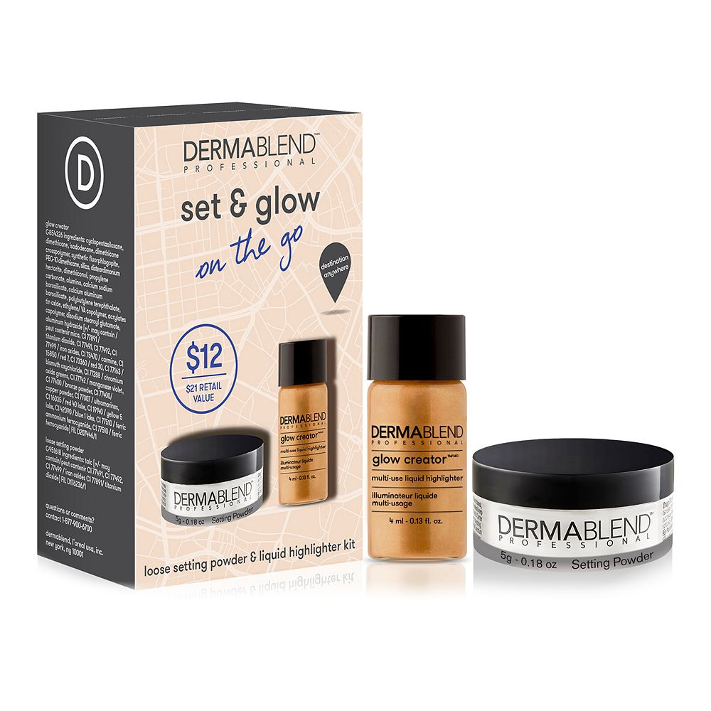Dermablend Professional Set & Glow On the Go Set