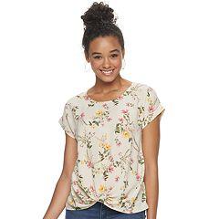 4c519fbf10 Juniors Beig/khaki Shirts & Blouses - Tops, Clothing | Kohl's