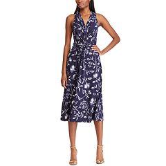 3ba155d2ddb Petite s Chaps Sleeveless Midi Dress