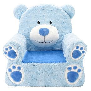 Animal Adventure Sweet Seat Blue Bear Chair
